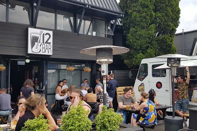 12 BAR Craft Beer Venue in Christchurch with Outdoor Seating
